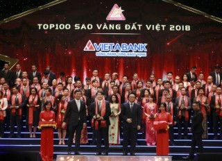 VietABank được vinh danh Sao Vàng đất Việt
