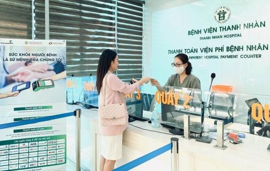Ngân Lượng và Vietcombank hợp tác với Bệnh viện Thanh Nhàn triển khai thanh toán không sử dụng tiền mặt