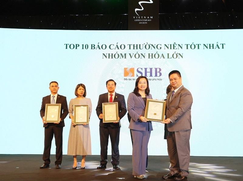 shb duoc vinh danh trong top 10 doanh nghiep von hoa lon co bao cao thuong nien tot nhat