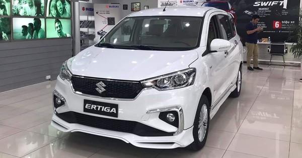 Suzuki Ertiga giảm giá kỷ lục