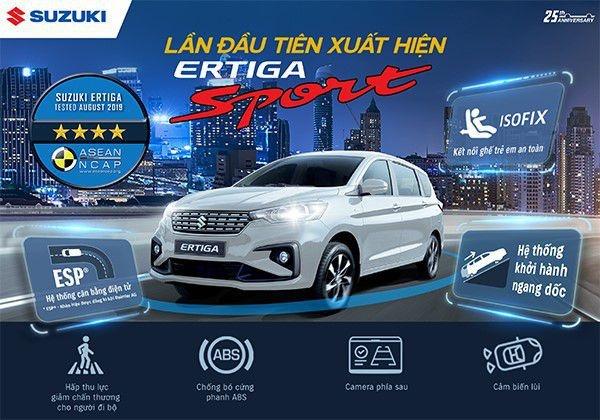 Suzuki Ertiga Sport chốt giá 559 triệu đồng