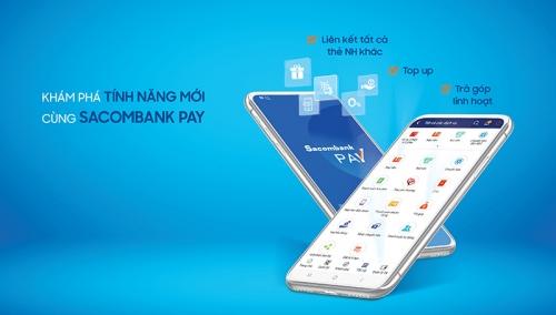 Sacombank bổ sung tính năng mới cho Sacombank Pay