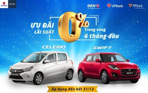 Suzuki ưu đãi đến 50 triệu đồng cho khách hàng nhân dịp Giáng sinh
