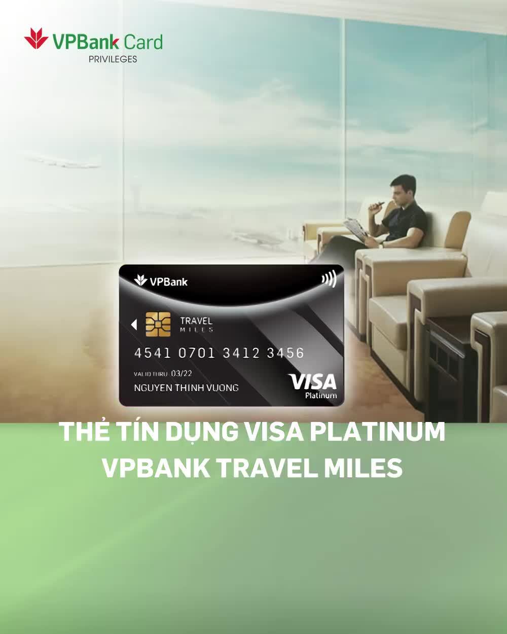 Miễn phí phòng chờ quốc tế Dragon Pass khi sở hữu thẻ tín dụng VPBank Travel Miles