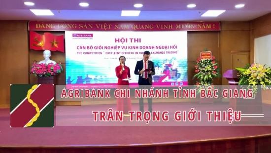 Agribank CN Bắc Giang: Hội thi cán bộ giỏi nghiệp vụ Kinh doanh Ngoại hối